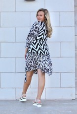 FEATHER & FIND May Animal Print Dress