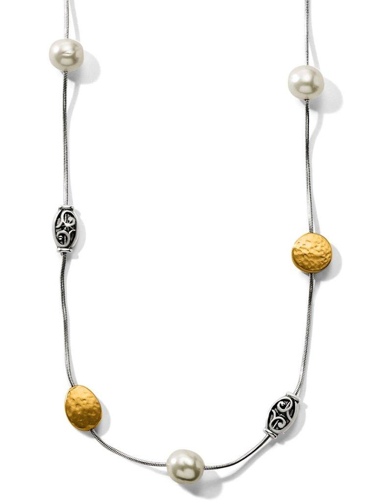 Mediterranean Pearl Long Necklace