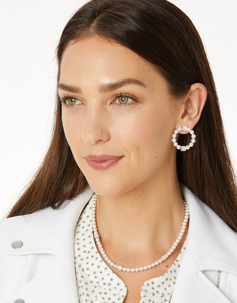 Meridian Petite Pearl Station Necklace