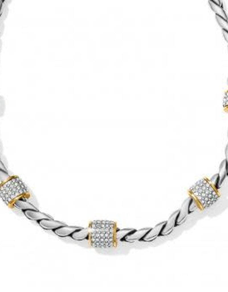 Meridian Two-Tone Necklace