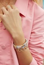 KENDRA SCOTT Reece Gold Wrap Bracelet