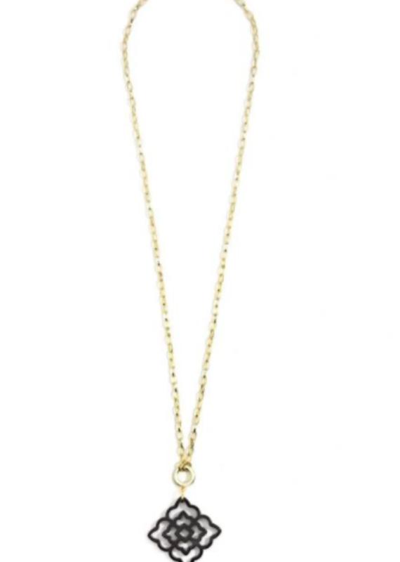 ZENZII Rose Convertible Pendant Necklace