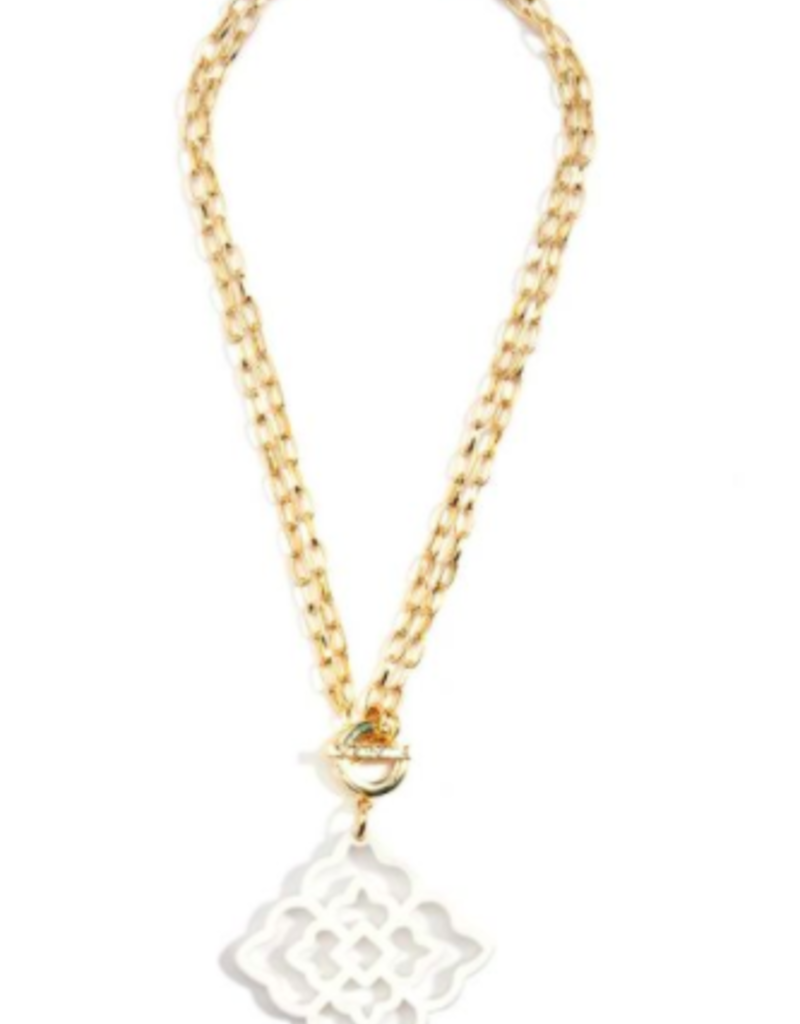 ZENZII Rose Convertible Pendant Necklace