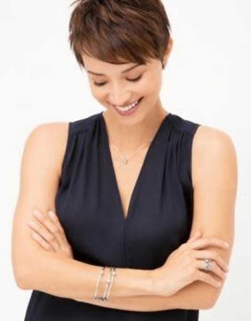 Twinkle Round Petite Necklace