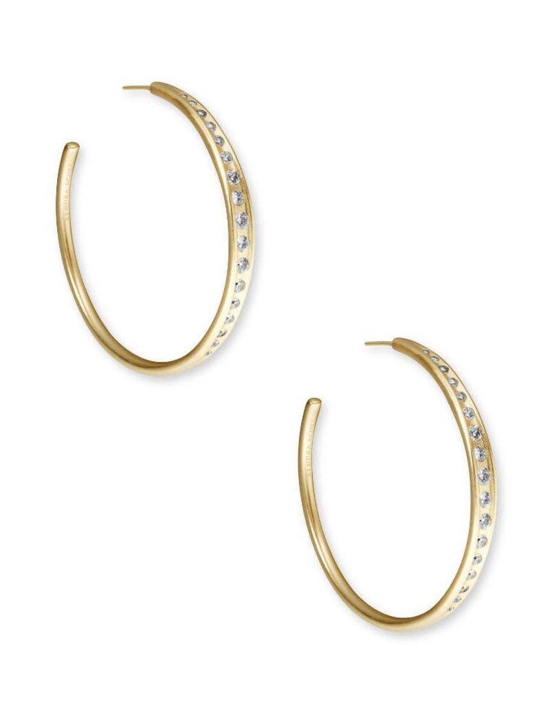 KENDRA SCOTT Selena Hoop Earring
