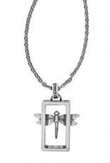 Solstice Framed Dragonfly Necklace