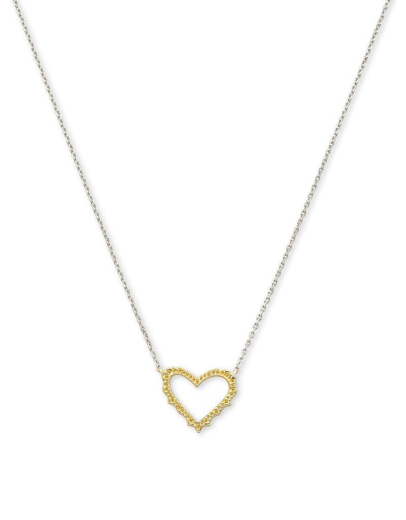 KENDRA SCOTT Sophee Heart Pendant Necklace