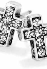 Starry Night Cross Mini Post Earrings