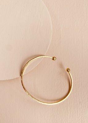 BRENDA GRANDS Sun Bangle Bracelet