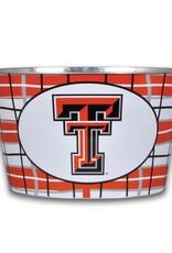 FAIRE Texas Tech Go Red Raiders Metal Bucket