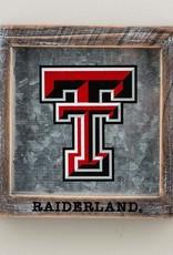 GLORY HAUS Texas Tech Raiderland Logo Table Top