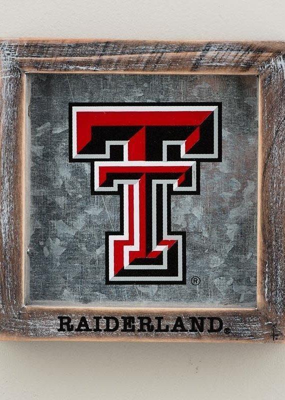 GLORY HAFR Texas Tech Raiderland Logo Table Top