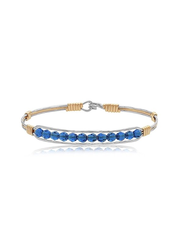 RONALDO Thin Blue Line Bracelet