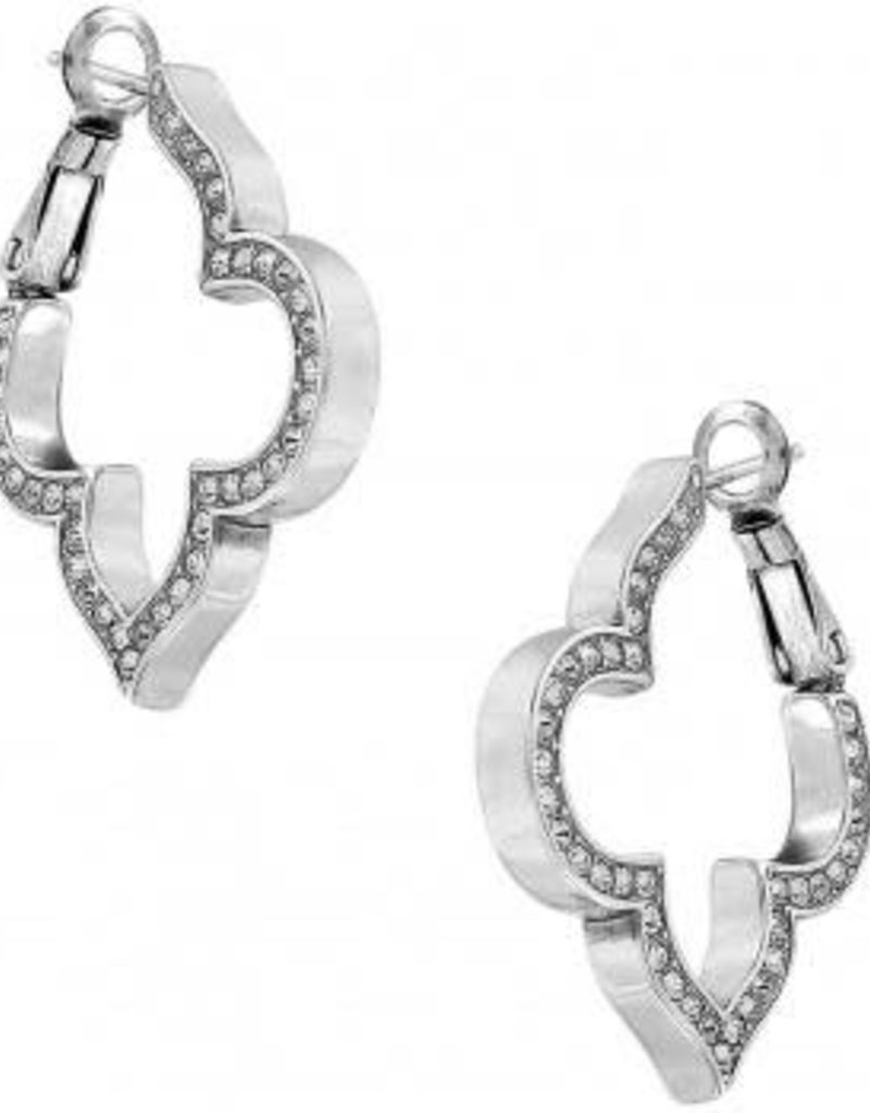 Tolledo Collective Pave Hoop Earrings