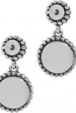 Twinkle Duo Post Drop Earrings