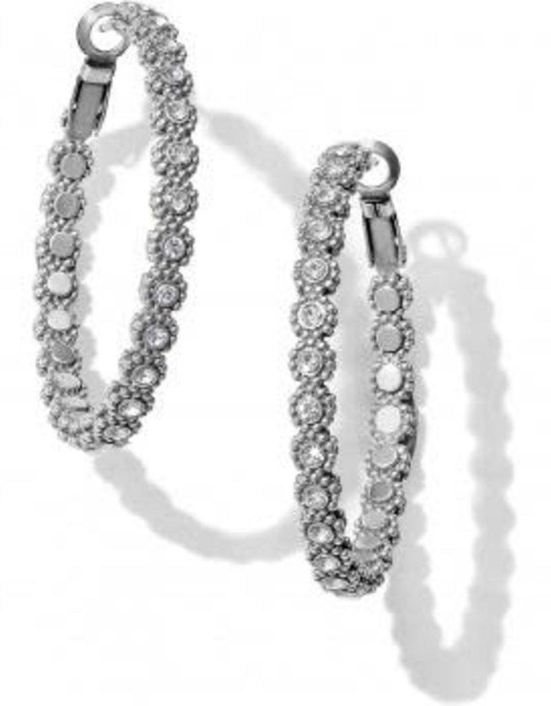 Twinkle Splendor Medium Hoop Earrings