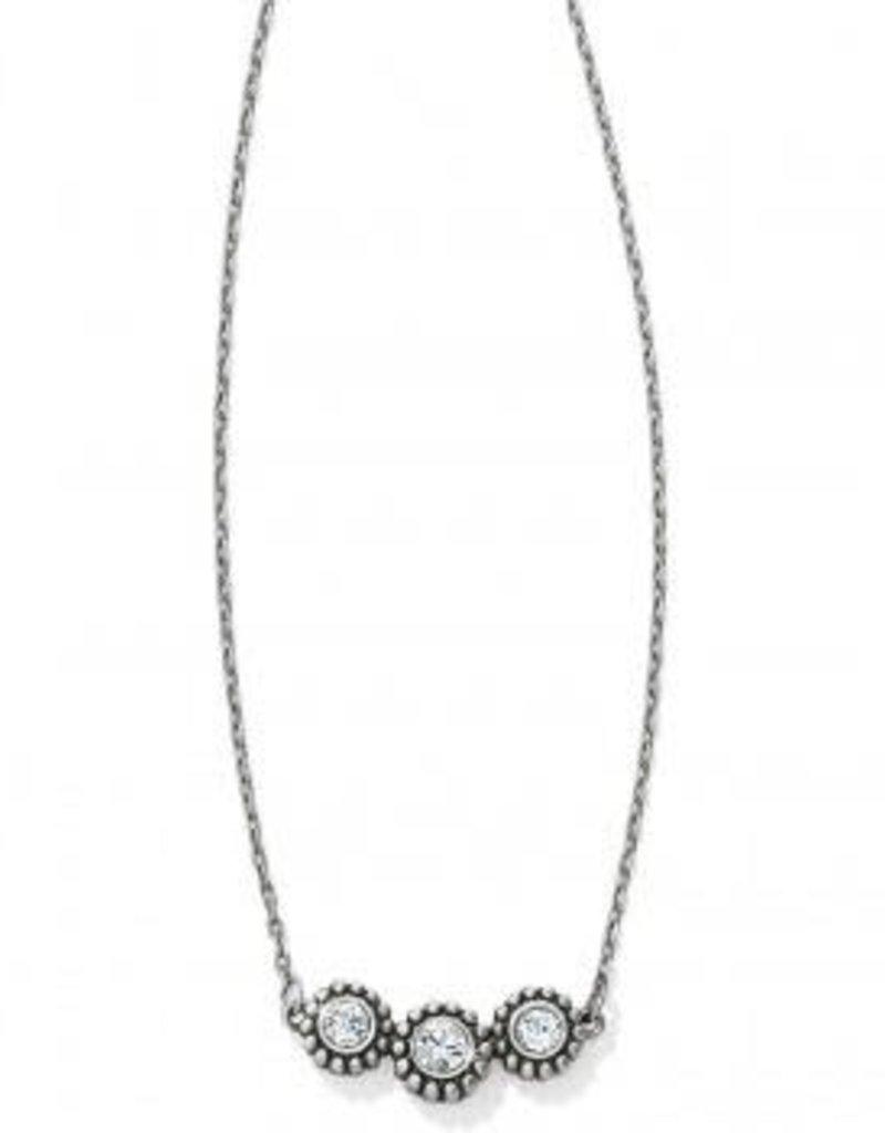 Twinkle Triple Stone Necklace