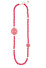 ZENZII Uptown Swirl Beaded Long Necklace