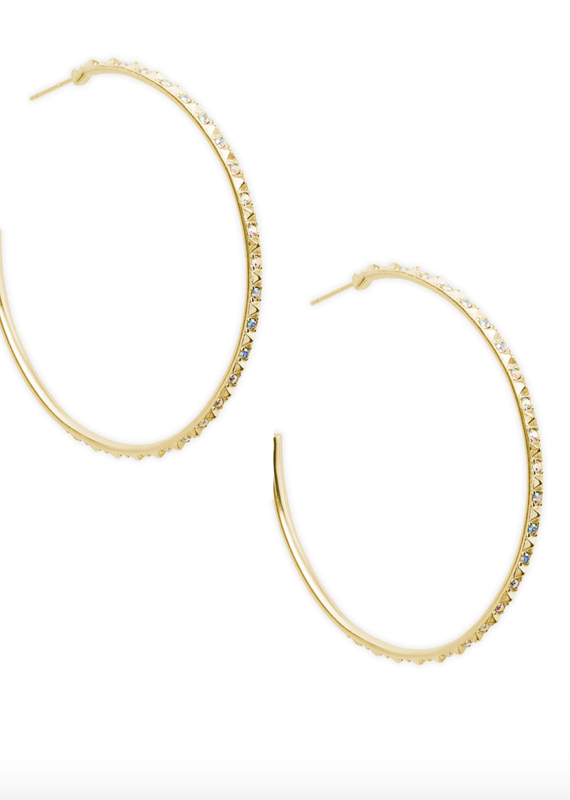 KENDRA SCOTT Val Hoop Earrings