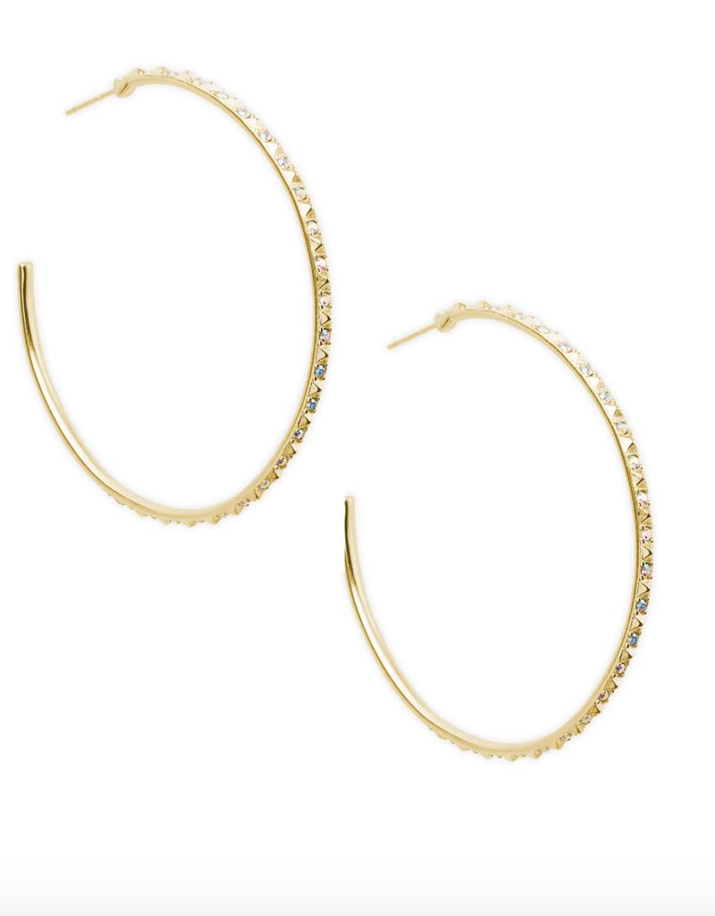 KENDRA SCOTT Val Hoop Earrings