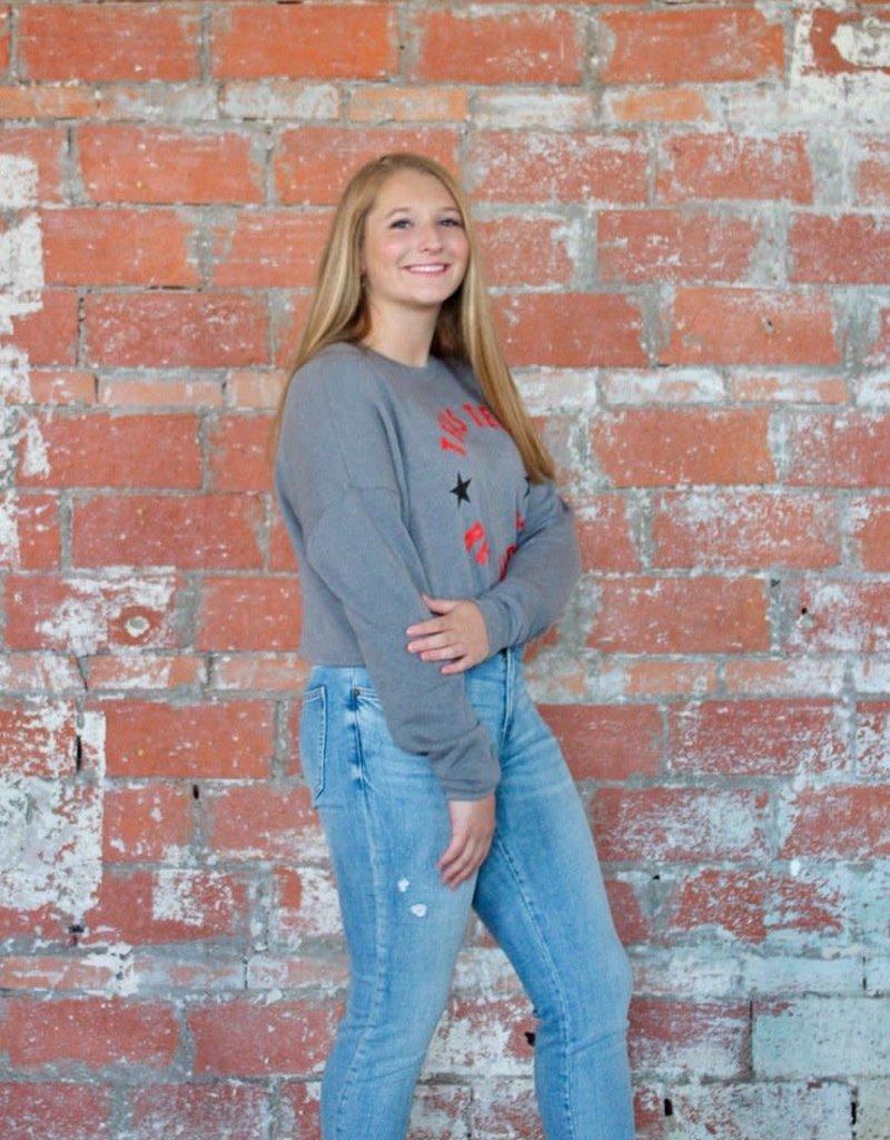 KICKOFF Winner's Circle Crop Pullover
