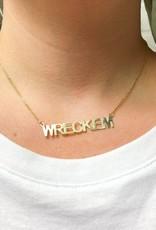 LOLA & LINA Wreck Em Block Necklace