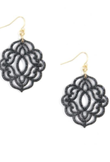 ZENZII Baroque Resin Drop Earrings