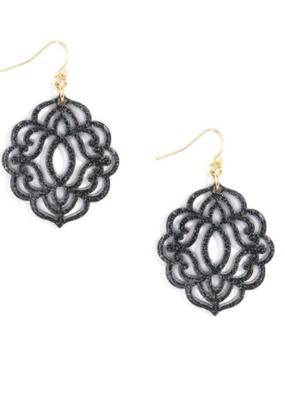 ZENZII Baroque Resin Drop Earrings