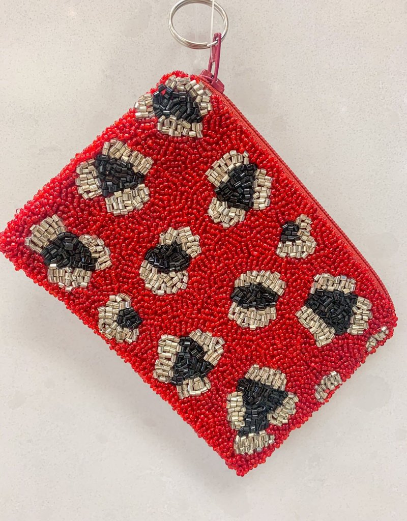 MOYNA Beaded Coin Purse