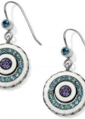 Halo Light French Wire Earrings