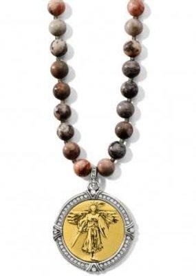 Brave Angel Pendant Necklace