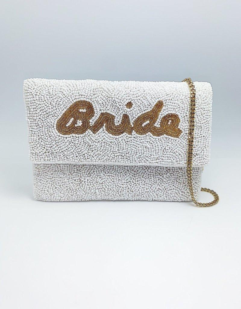 j.hoffman's Bride Beaded Bag