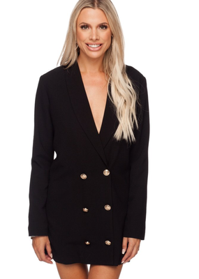 BUDDY LOVE Carey Long Sleeve Blazer Dress