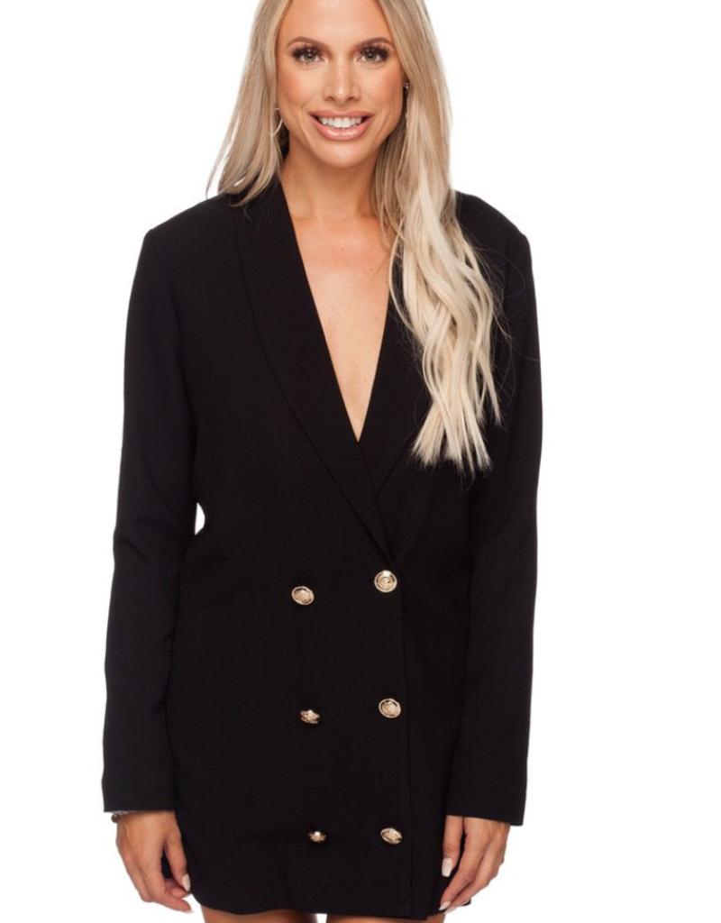 BUDDY LOVE Carey Long Sleeve Blazer Dress