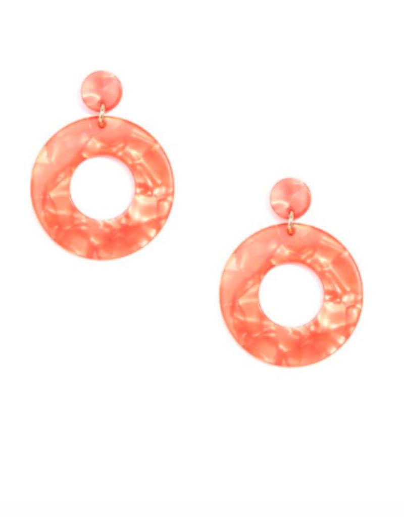 ZENZII Chunky Modern Acetate Earrings