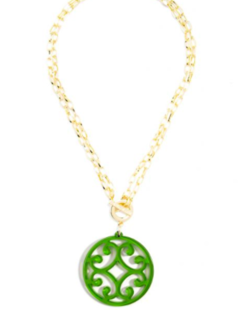 ZENZII Circle Scroll Convertible Necklace