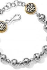 Ferrara Hammered Bead Bracelet