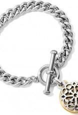 Ferrara Two Tone Toggle Bracelet