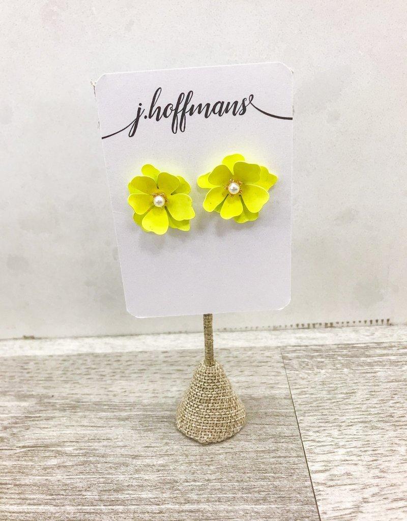 j.hoffman's Flower Power Studs