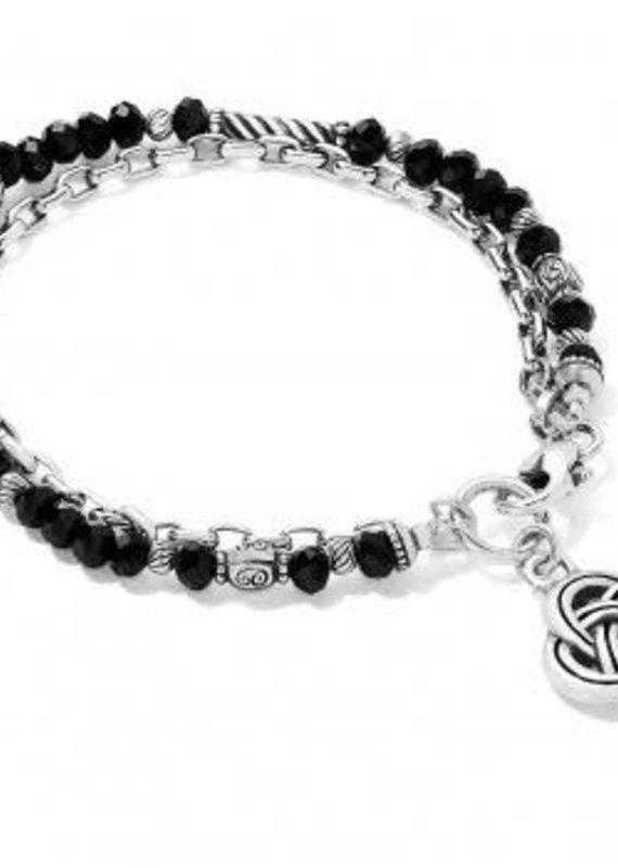 Gleam On Noir Bracelet