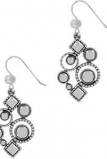 Halo Aurora French Wire Earrings