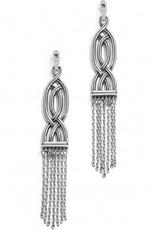 Interlok Fringe Post Drop Earrings