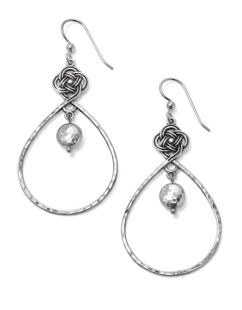 Interlok Knot Loop French Wire Earrings