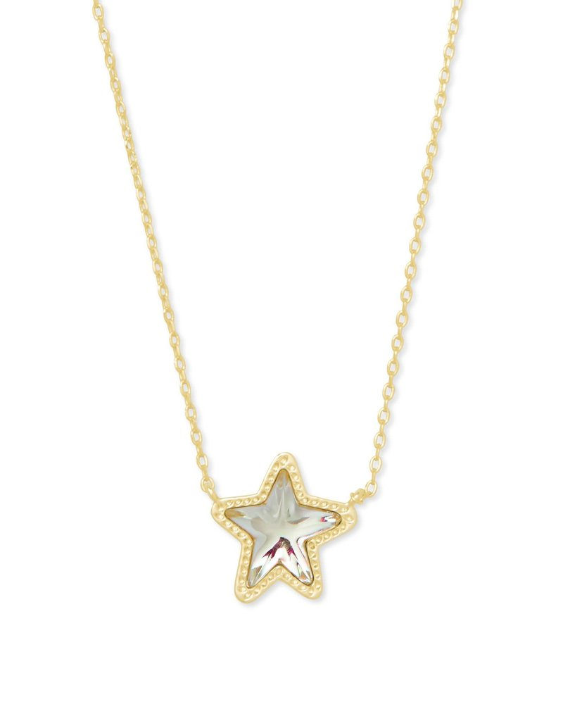 KENDRA SCOTT Jae Star Gold Pendant Necklace