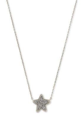 KENDRA SCOTT Jae Star Silver Pendant Necklace