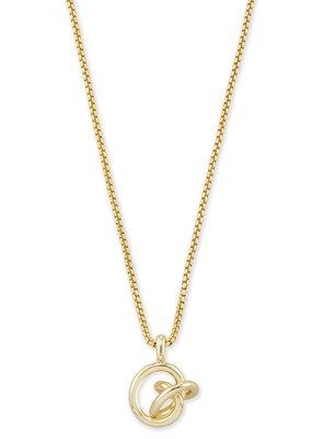 KENDRA SCOTT Presleigh Love Knot Pendant Necklace