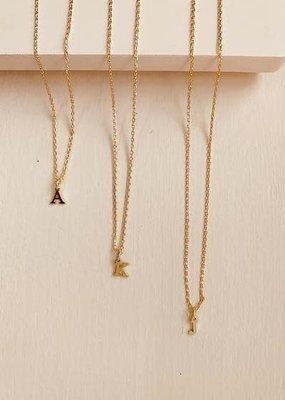 BRENDA GRANDS Petite Initial Necklaces