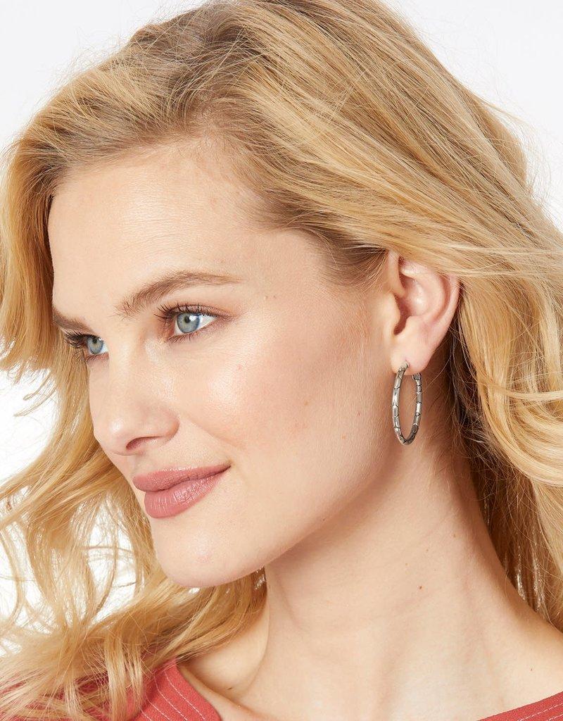 Pebble Small Hoop Earrings