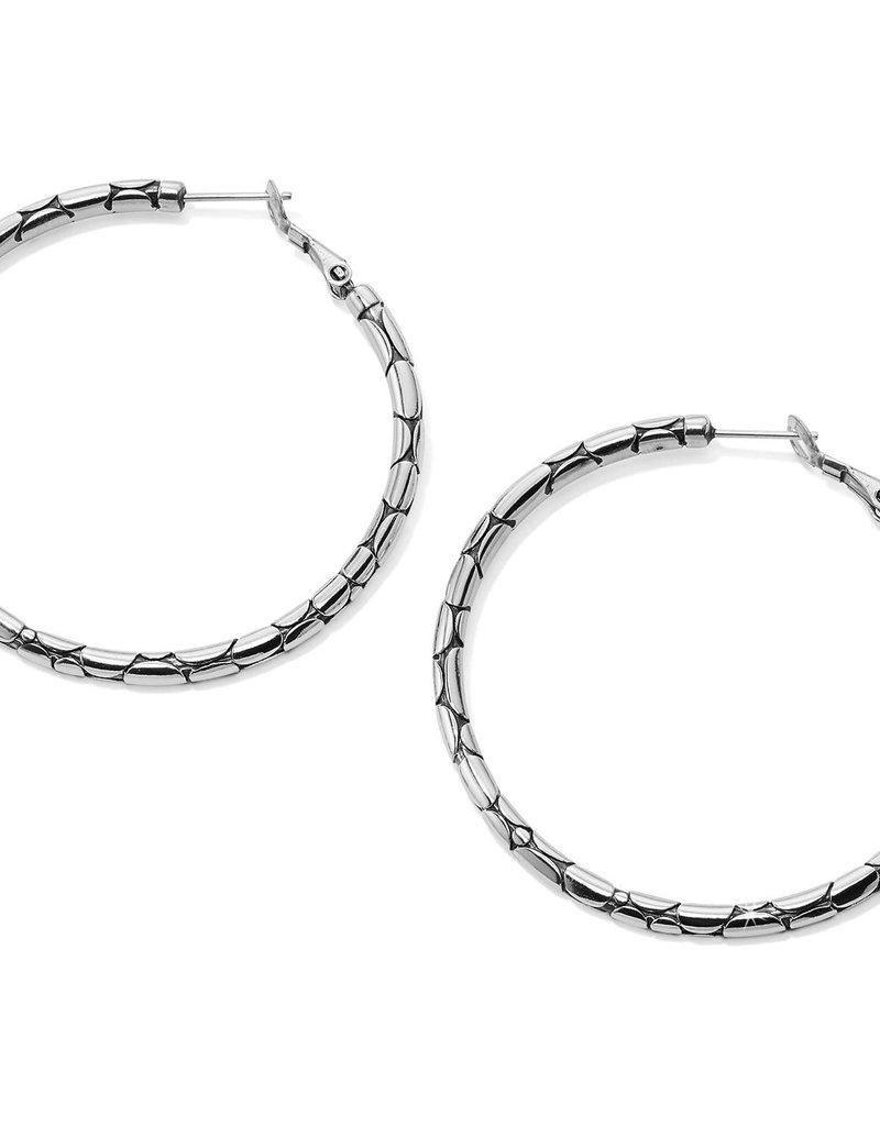 Pebble Large Hoop Earrings
