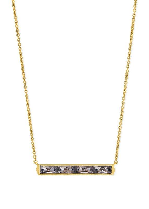 KENDRA SCOTT Jack Vintage Gold Pendant Necklace